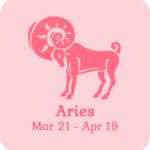 aries zodiac sign icon
