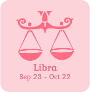 libra zodiac sign icon