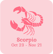 scorpio zodiac sign icon