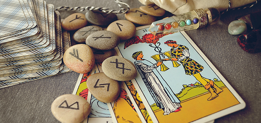 tarot card reading page banner